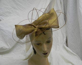 Fascinator with Guitar strings