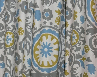 "CUSTOM CURTAINS - A pair of custom curtain 24"" Wide X by up to 96"" Long"