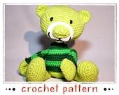 Teddy - Crochet Pattern - PDF file - Amigurumi
