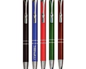 Personalized Trimmed Laserable Pen - BRAND NEW