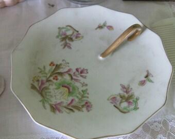 Vintage Handpainted Lemon Plate