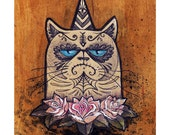 Sugar Grump - Mini Fine Art Print