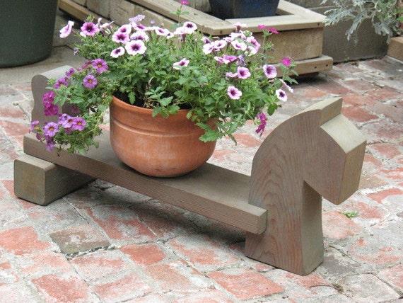 Yard Art - Dog stand - Dog art - plant stand - garden stand
