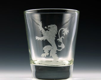 House Lannister Game of Thrones Shot Glass