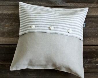 DECORATIVE PILLOWS - linen cushion cover - linen pillow cases - linen throw pillows - linen shams - sofa pillows - pillow covers - lumbar