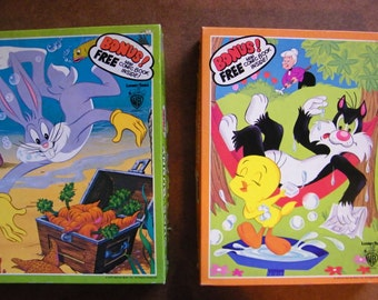 Vintage Looney Toon Jigsaw  Puzzles 1970's