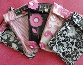 Bitch Bag 5 Pack 4x5 Clear Front Lingerie / Pure Romance / Naughty Party Hostess Gifts  - You Choose Fabrics