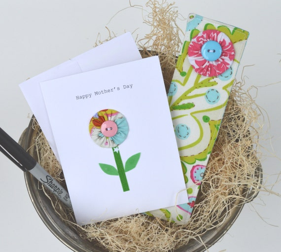 Mothers Day Card and Bookmark Gift Set