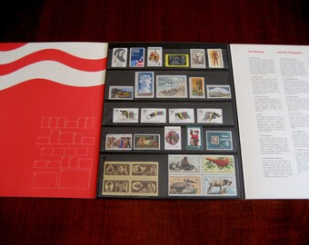 USPS Special Stamp Mini Album -1972 Postal Service Collector's Album