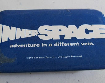 Vintage Collectible button innerspace