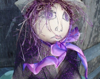 April. one of a kind Art Doll