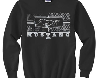 Crewneck Sweatshirt / Ford Mustang Grill