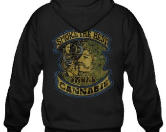 Adult Hoodie / Smoke the Best Smoke Cannabis