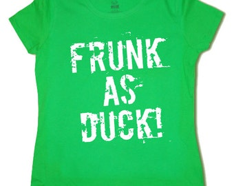 Ladies t-shirt / Frunk as Duck