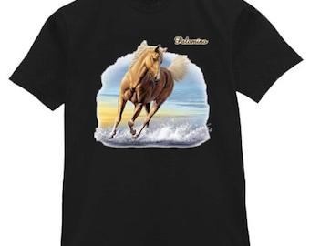Mens T-shirt / Palomino horse
