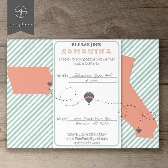 Going Away Party Invitation as good invitation layout