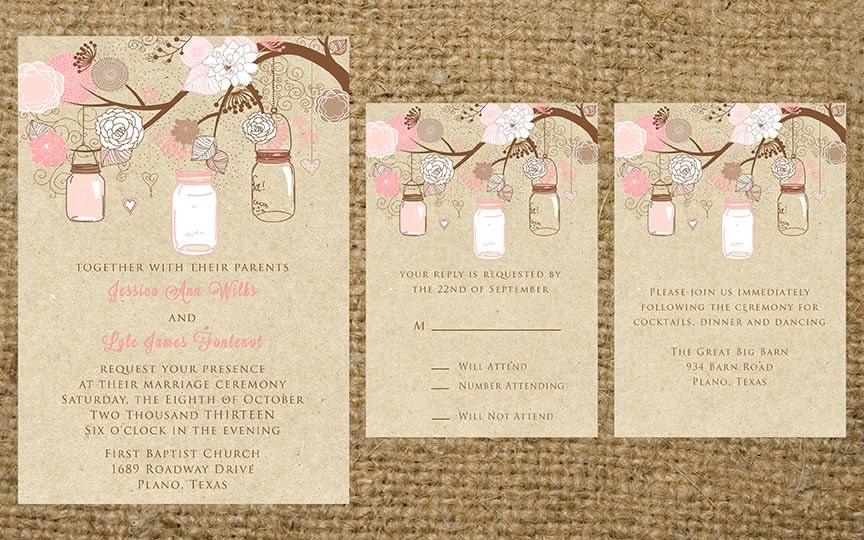 Country Chic Wedding Invitations was amazing invitation sample