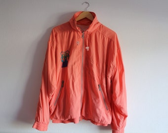 SALE 50 OFF Vintage Cerruti 1881 Tracksuit Sport Jacket and Trousers Salmon Mens Fashion Sportswear