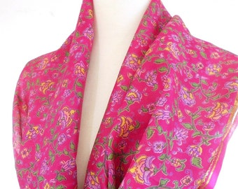 how to make a sari scarf