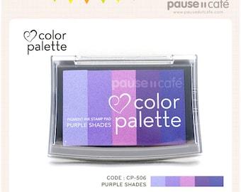 Tsukineko Color Palette Ink Pad PURPLE SHADES