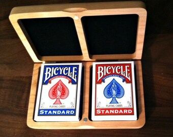 PLAYING CARD BOX (Double Deck Included)