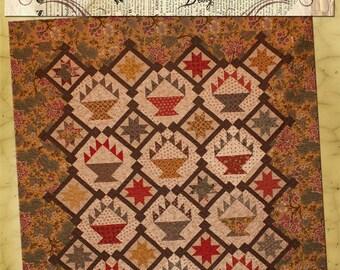 Old Green Cupboard Wicker Wonder Quilt Pattern