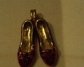 Dorothy Shoe Charm - Ruby Red Slippers