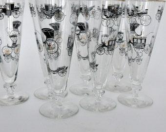 Pilsner Glasses, Set of 8