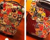 1 Sheet Suitcase Sticker - Deco Sticker - Masking Sticker - Diary Sticker - 13 styles can choose