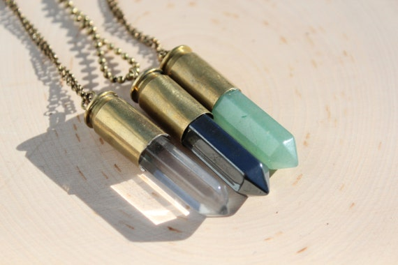 45 Caliber Bullet Necklace