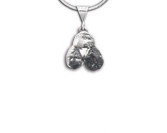 Sterling Silver Poodle Pendant