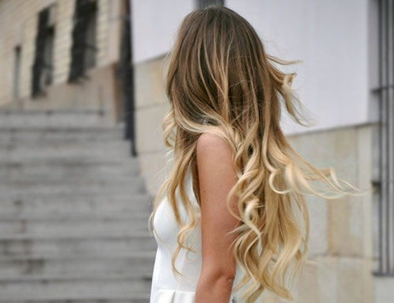 Ombre Ombre Hair, Ombre Tape Hair Extensions\/Dark Blonde Medium Blond ...