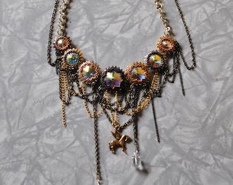 Gear necklace (#1)