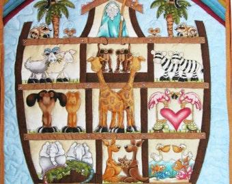 Bible story quilt | Etsy : noahs ark quilt - Adamdwight.com
