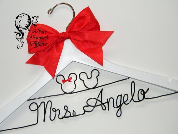 ... Personalized Bridal Hanger, Personalized Bridal Gift - Rush delivery