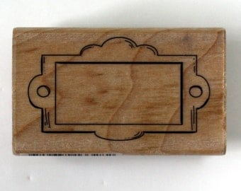 Drawer Label Rubber Stamp