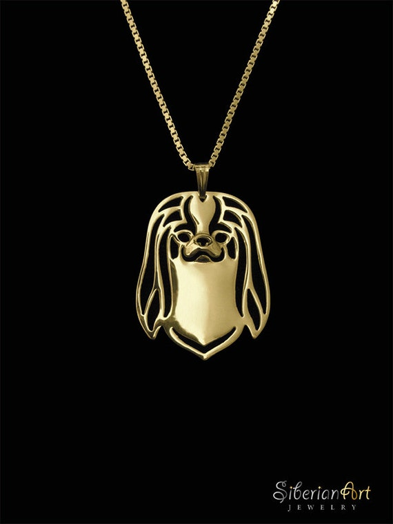 japanese chin jewelry gold pendant and necklace