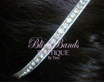 Signature BlingBands with larger stones for Baby crown props or Adult Headband