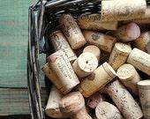 500 Natural Corks for crafting projects, wine corks, crafting cork - DESTASH