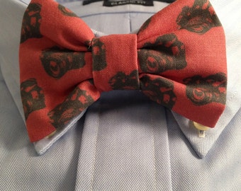 Red DSLR Camera Bow Tie