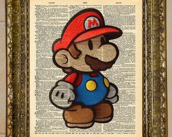 Paper Mario Dictionary Art