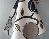Linen Cotton Dish Towels Fruit Apples Pears - Tea Towels set of 2