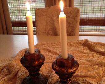 Vintage candle holders