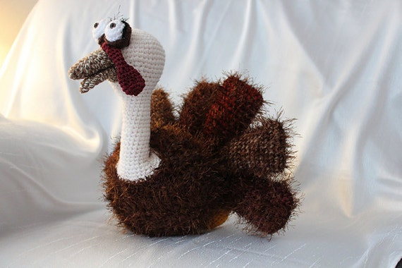 Amigurumi Crochet Pattern - Thomas the Turkey