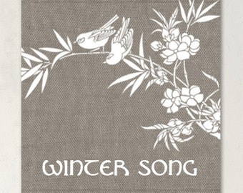 ETSY SHOP BANNERS Winter Song