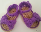 Puff Bow Sandals PDF Pattern