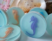 "Glycerin Soap ""Sea Treasure Soap""  Seahorse, Christmas Gifts, Bath, Home, Gifts, Parties, Birthday Gifts, Favors, ACOFT, OFG Team, WIB"