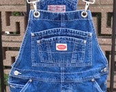 REVOLT CLOTHING CO. denim short overalls size medium at whackytacky on etsy