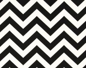 Black/White ZigZag Pillow Cover