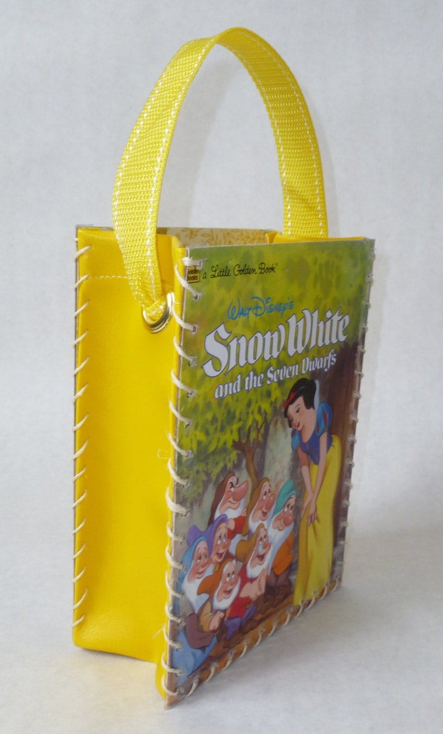 Paper Bag Book Cover With Handles : Classic golden book child s bag by girlzofclass on etsy